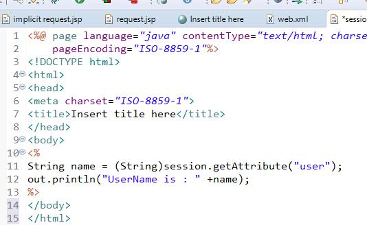 JSP Implicit Objects 9 Implicit Objects in JSP 18
