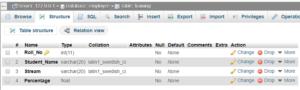 Java MySQL Database Connectivity with Example 1