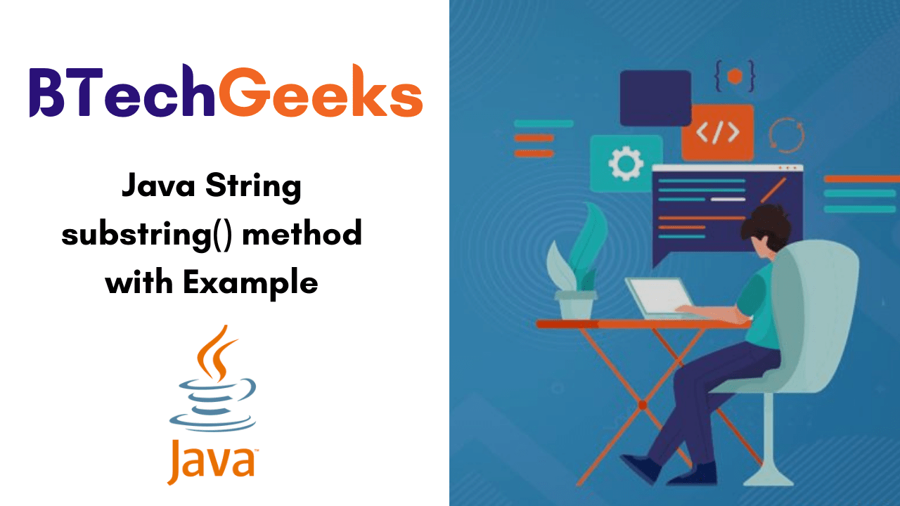 Java String substring() method with Example