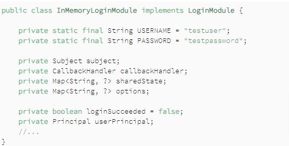 Login Module Implementation