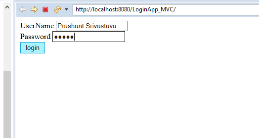 MVC Architecture in JSP with Example 10