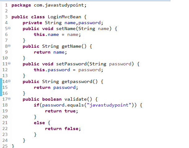 MVC Architecture in JSP with Example 4