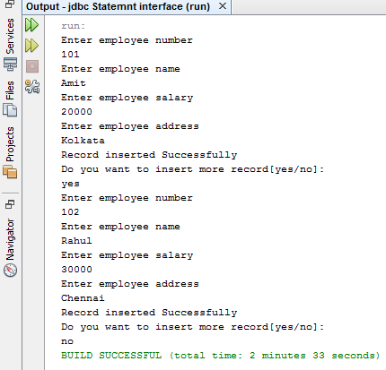 PreparedStatement in Java 1