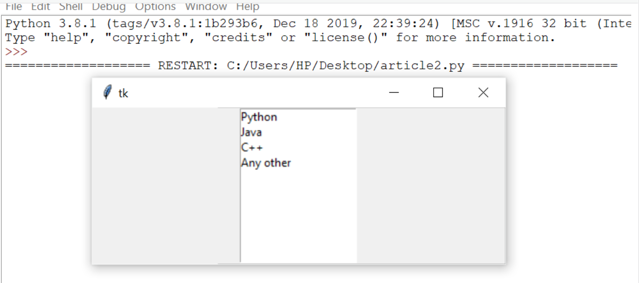 Python-GUI-Programming-With-Tkinter_listbox-output