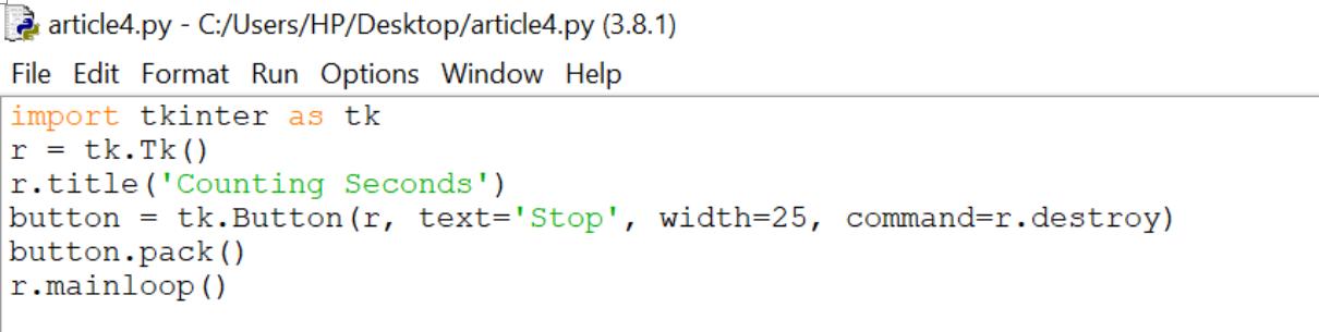 Python-GUI-Programming-With-Tkinter_using-button