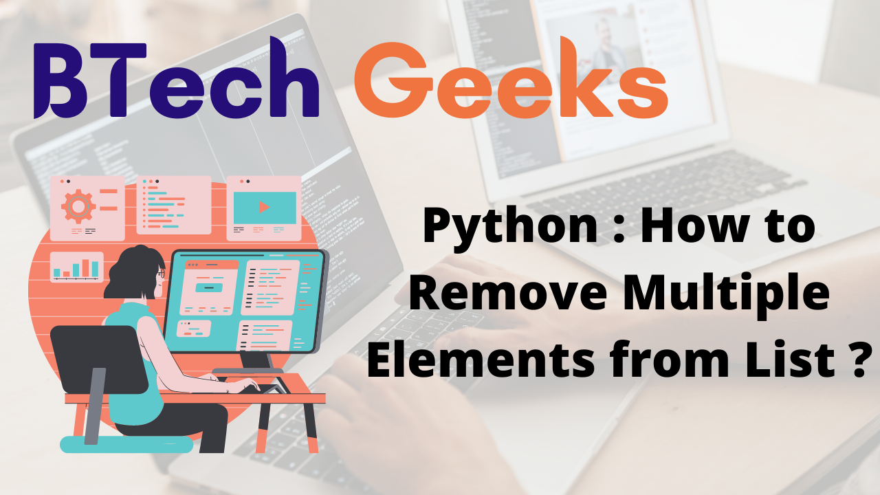 Python How to Remove Multiple Elements from List