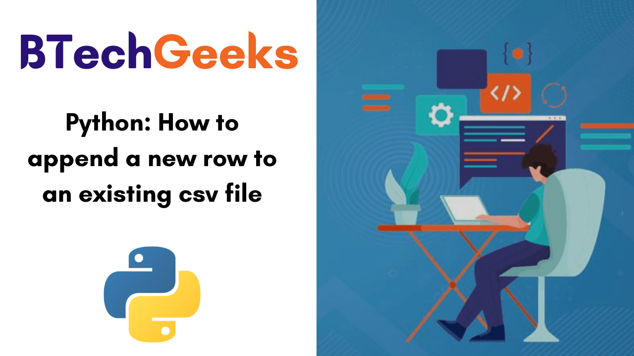 Python-How to append a new row to an existing csv file