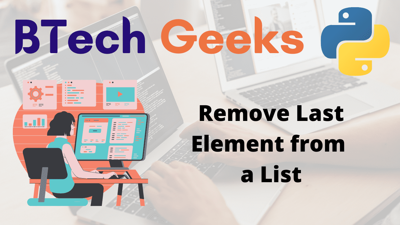 Remove Last Element from a List