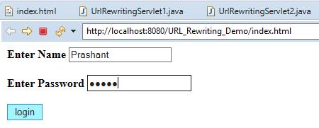 Session Management Using URL Rewriting in Servlet 5