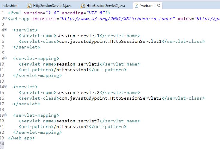 Session Management in Servlet Using HttpSession 5
