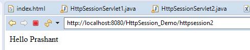 Session Management in Servlet Using HttpSession 8