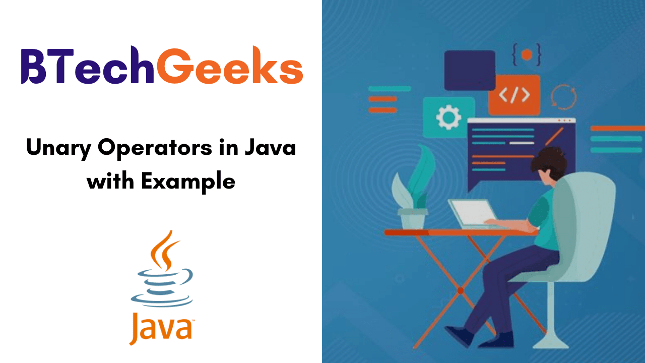 Unary Operators in Java with Example