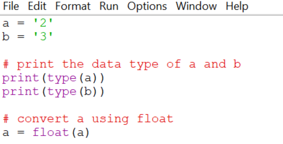 Using-float-function