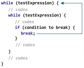 Break Statement with Nested Loops
