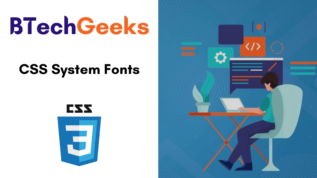 CSS System Fonts