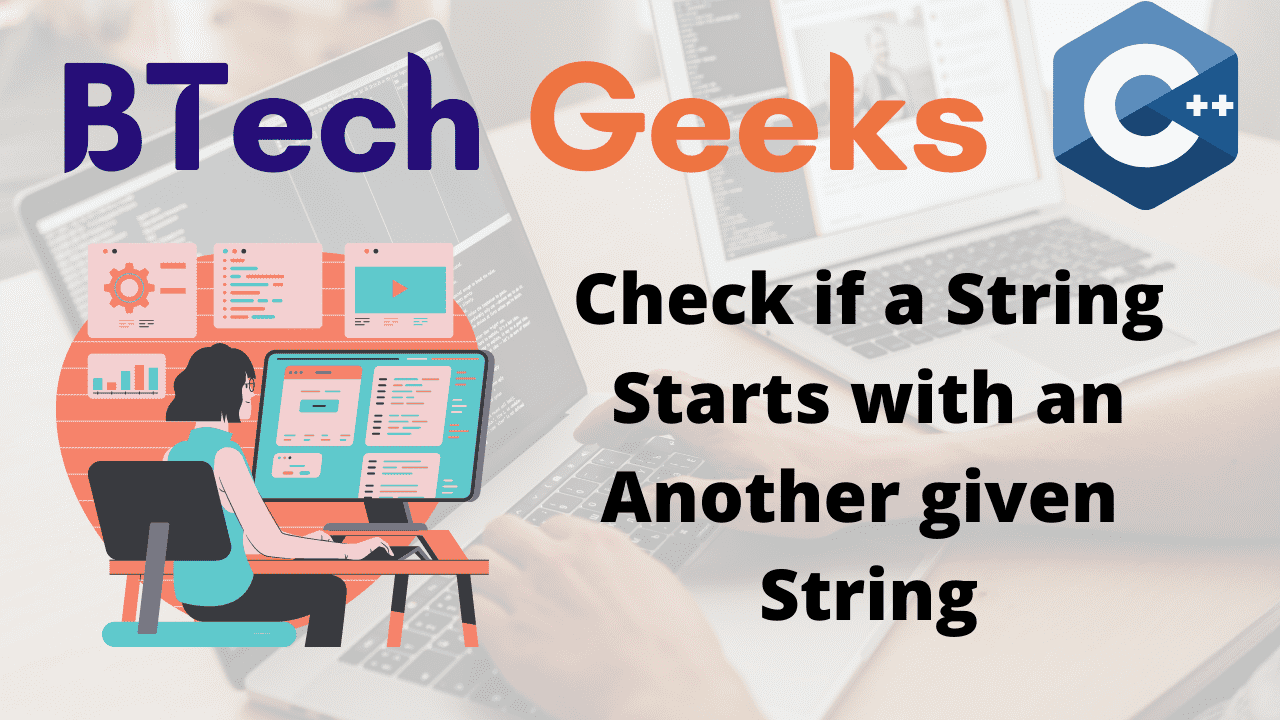 Check if a String Starts with an Another given String