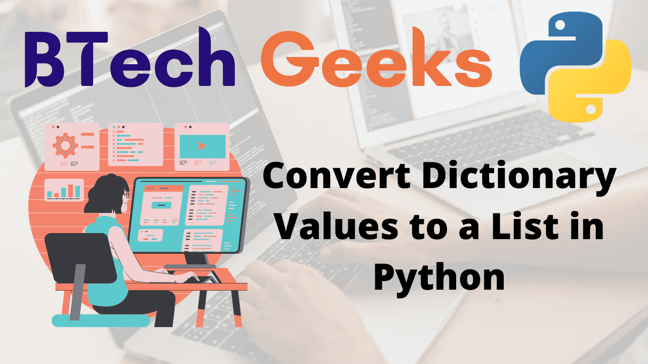Convert Dictionary Values to a List in Python