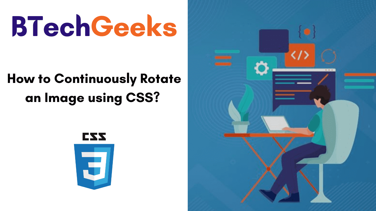 How to Continuously Rotate an Image using CSS