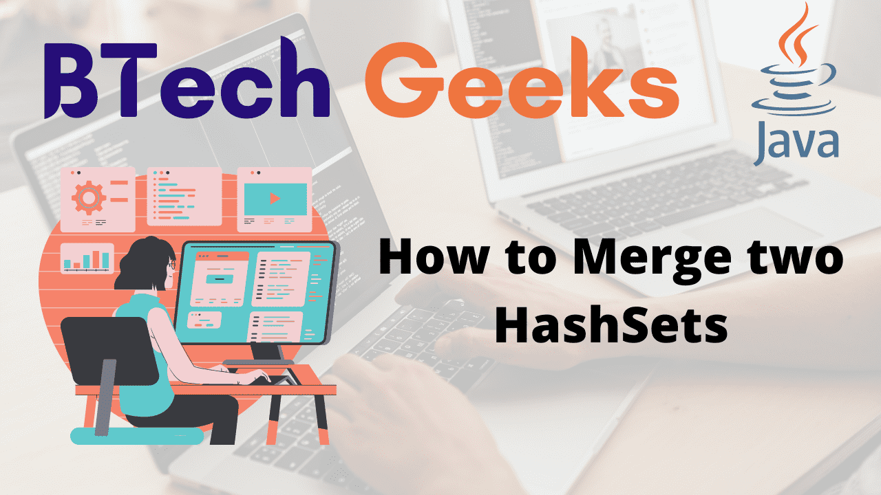 How to Merge two HashSets