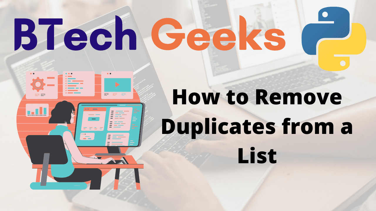 How to Remove Duplicates from a List