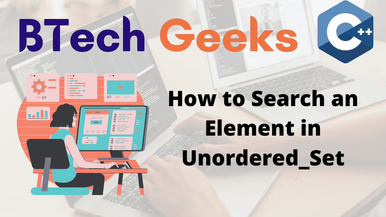 How to Search an Element in Unordered_Set