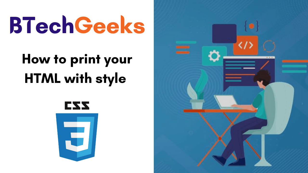 How to print your HTML with style