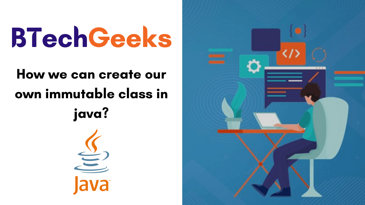 How we can create our own immutable class in java