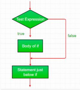 If Statement Flowchart