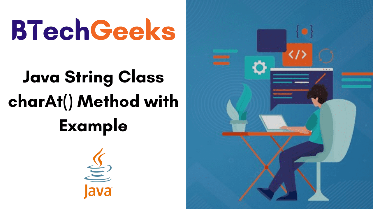 Java String Class charAt() Method with Example