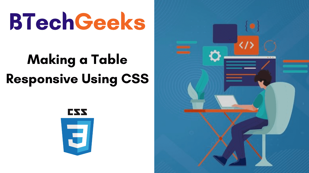 Making a Table Responsive Using CSS