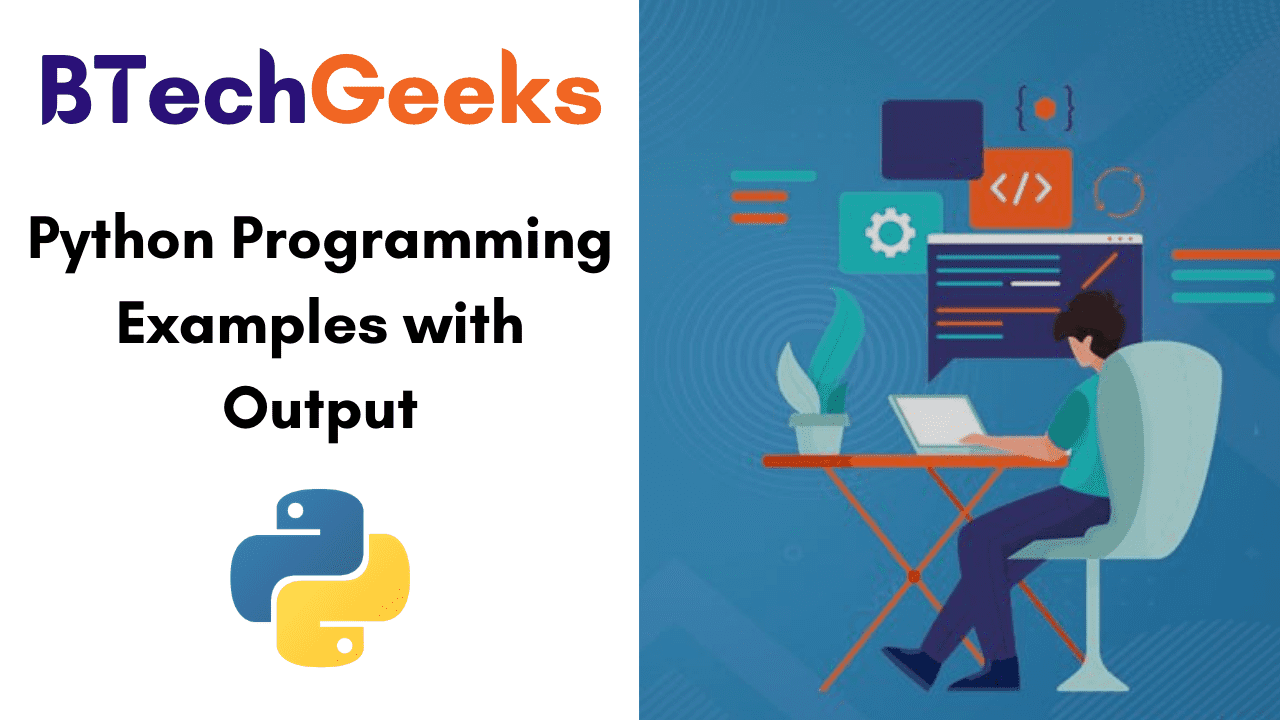 Python Programming Examples with Output