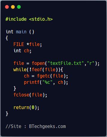 C program using vfprintf function