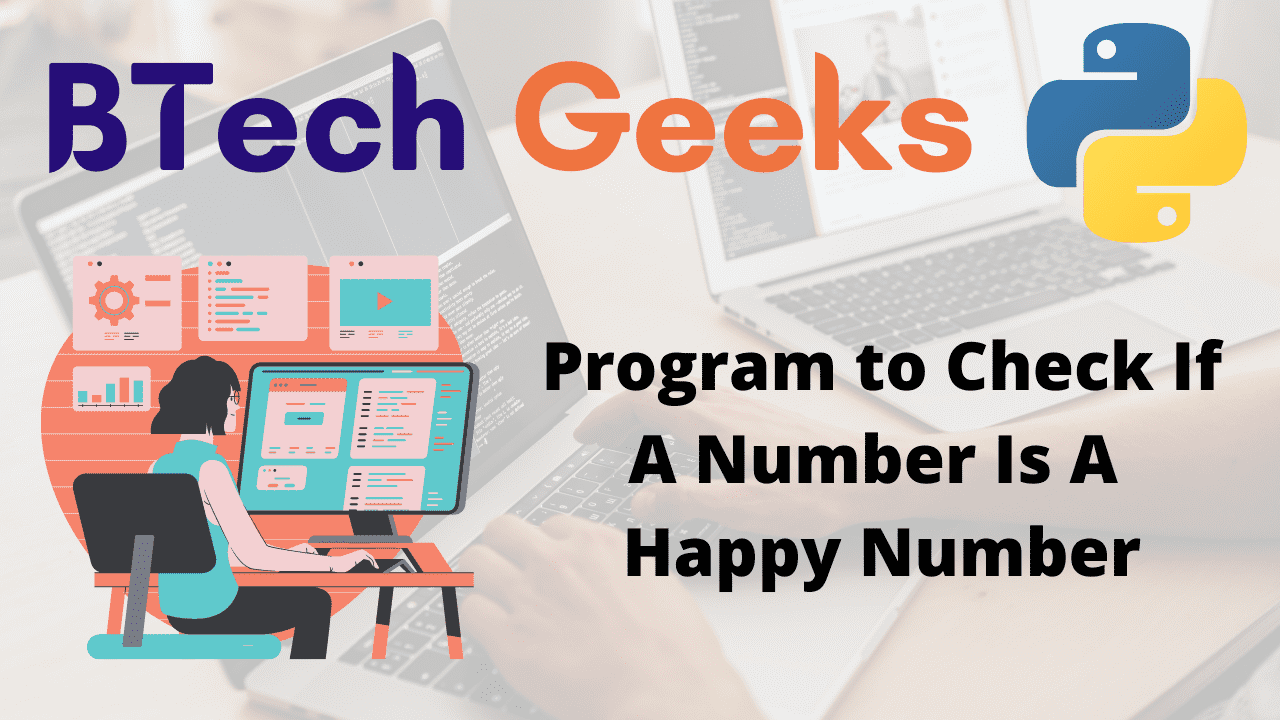 Program to Check If A Number Is A Happy Number