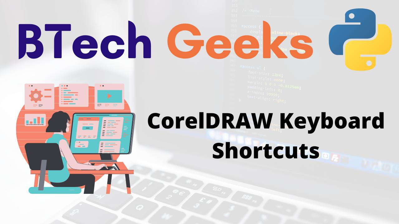CorelDRAW Keyboard Shortcuts