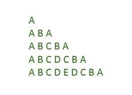 Palindrome_Triangle_Pattern
