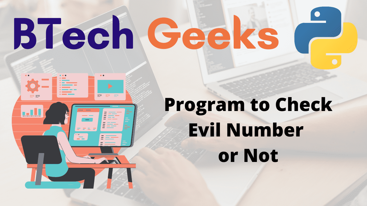 Program to Check Evil Number or Not
