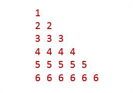 Triangle_Pattern_Same_Number_Row