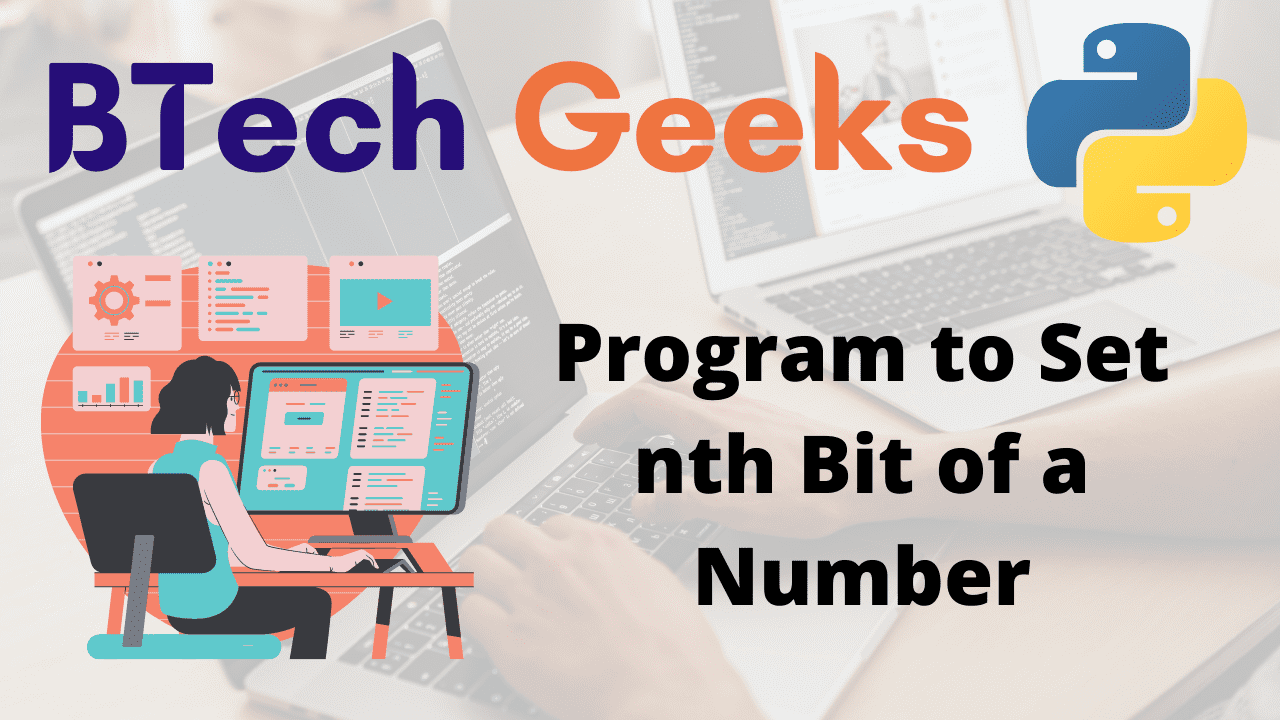 Program to Set nth Bit of a Number
