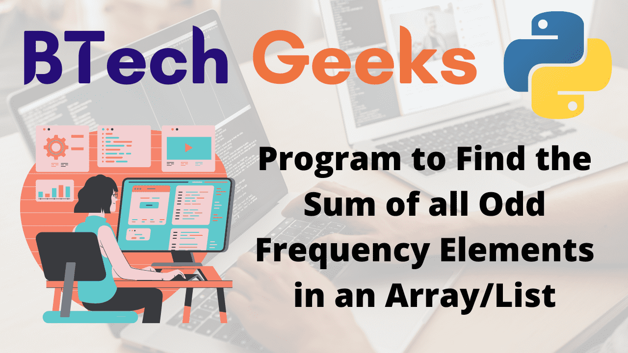 program-to-find-the-sum-of-all-odd-frequency-elements-in-an-arraylist