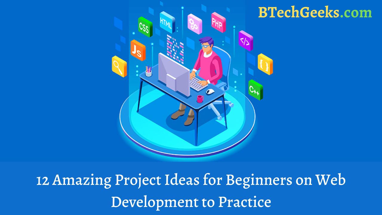 Web Development Project Ideas For Beginners